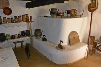 a tájház konyhája