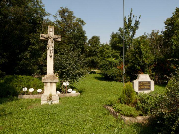 ismeretlen német katonák sírjai